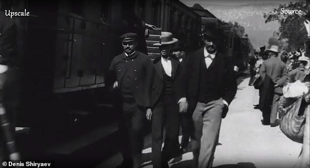 Application of Artificial Intelligence To Improve The Quality Of 19th Century Video Clip